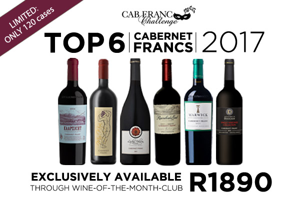My Wyn Cabernet Franc top 6 Wine of the Month Club